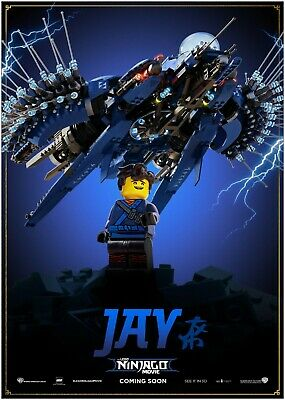 LLOYD The Lego Ninjago Movie Large Poster Art Print Maxi A0 A1 A2 A3 A4