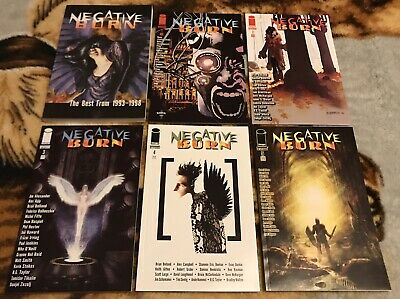 Negative Burn #1-5 NM/VF + Best of 1993-98 TPB 1st Ed Image Alan Moore, Bolland