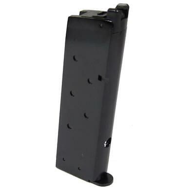 We M1911 Single Stack Gas Magazine 15rd Black Airsoft Mag