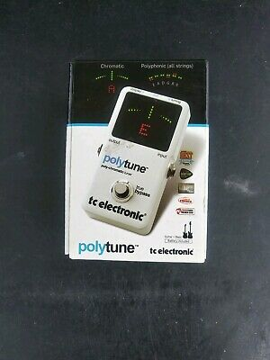 TC ELECTRONIC - Polytune LED Guitar Bass Tuner Stage Pedal