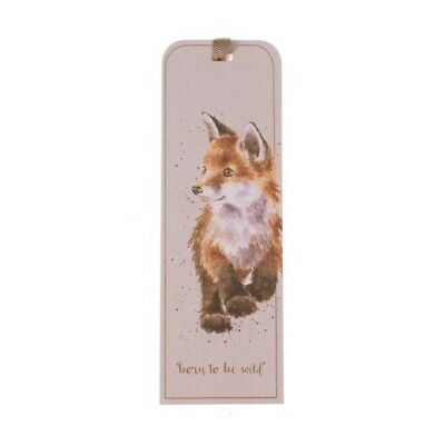 The Country Set Fox Bookmark - 50 x 150 mm Born to be Wild Book Mark