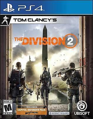 Tom Clancy's The Division 2 - Standard Edition (Sony PlayStation 4, 2019) - Used