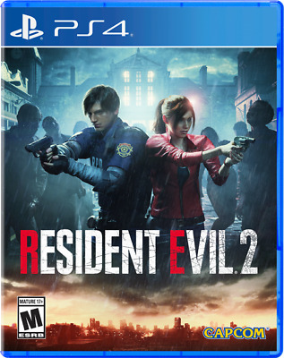 Resident Evil 2 (PlayStation 4, 2019) - Used