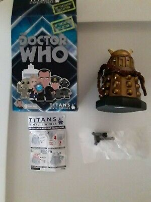 Doctor Who 9th Doctor Dalek Chase The Fantastic Collection Titans Vinyl Figures