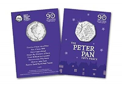 New IOM Peter Pan 50p to support Great Ormond Street Hospital Children..