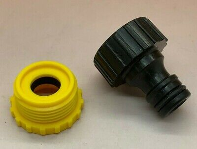 """Hozelock Compatible 3//4/"""" Accessory Tap Connector Male Thread Pipe Hose Joiner WL"""