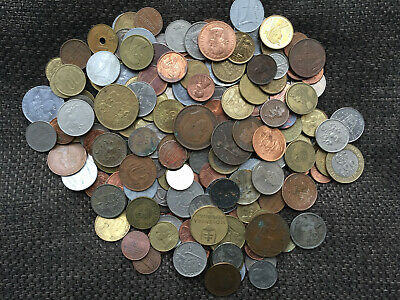 Collection of Mixed British and World Coins Job Lot Old and New