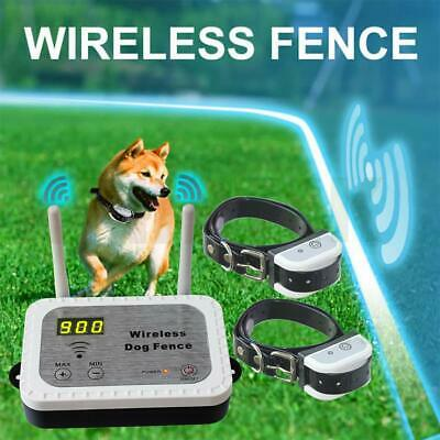 JUSTPET Wireless Dog Fence Pet Containment System, Safe Effective No Randomly