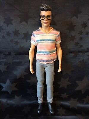 Barbie Fashionista Doll #3 Ken / Ryan With Glasses
