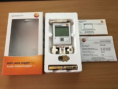 Testo Saveris 2 T3 Wifi Data Logger Temp -195 To 1350 Deg