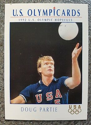 US Olymp Cards Doug Partie OS 1992 Nr. 95 Trading Card