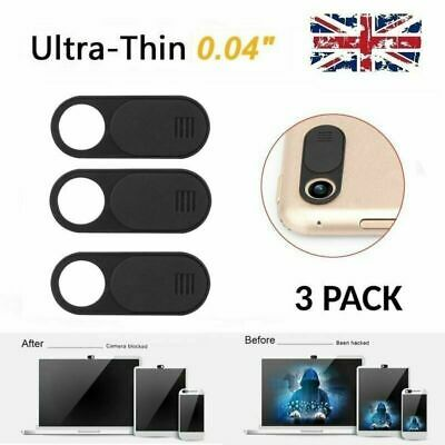 3 Pack Webcam Cover Camera Privacy Blocker for Computer iPad iPhone Ultra-Thin