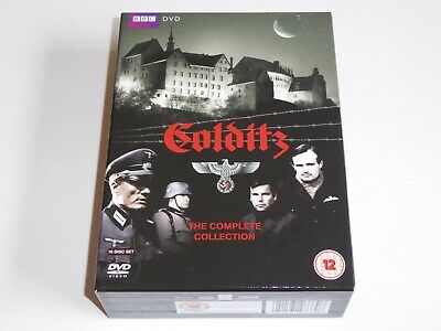 Colditz - The Complete BBC Series Collection - GENUINE UK DVD BOX SET - EXC COND
