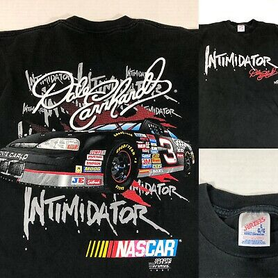 9907258d5b43 Vintage Dale Earnhardt T-Shirt #3 Nascar Intimidator 1997 Single Stitch  Large