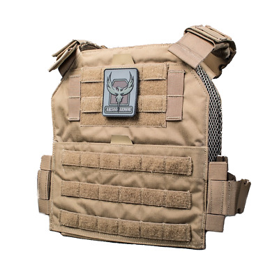 Veritas Plate Carrier (by AR500 Armor®) - Coyote - NEW!