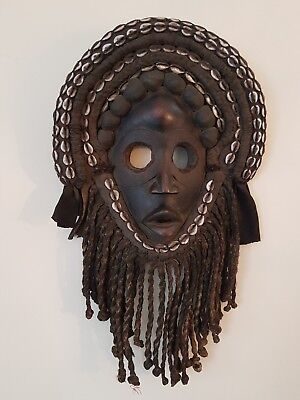 Superb and old African wood Dan Gunyege mask. Excellent example.