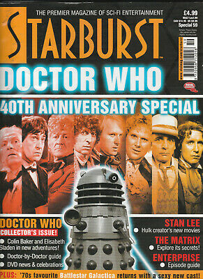 STARBURST SPECIAL Magazine Issue 59 - Doctor Who 40th Anniversary Special (2003)