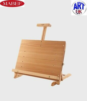 Mabef Professional Artists Beech Wood Tabletop Easel Lectern Display - M/34