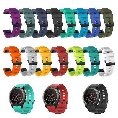 Wrist Strap Quick Release Watch band Silicone For Garmin Fenix 5 5X 5S plus