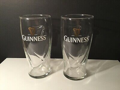 Collectable Guinness Glass 570ml X 2