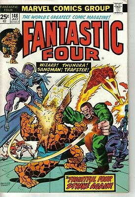Fantastic Four #148 Marvel Bronze Age 1974 W: Gerry Conway A: Rich Buckler