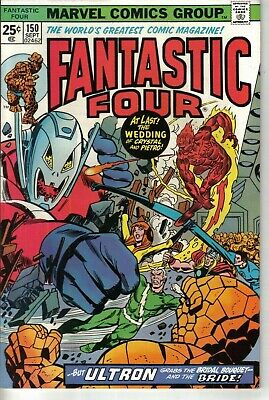 Fantastic Four #150 Marvel Bronze Age 1974 W: Gerry Conway A: Rich Buckler
