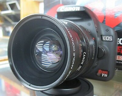 CPL Wide Angle Macro Lens for Canon Eos Digital Rebel T 7/6/5 i sl1 XTi STM 50MM