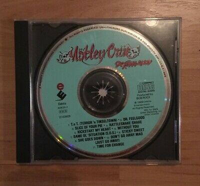Motley Crue Dr Feelgood CD