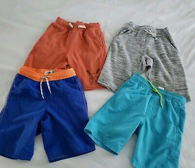 131acf4e59 Boys Shorts Swim Casual Comfy 6 7 Lot of 4 Gap Old Navy Cat Jack Target