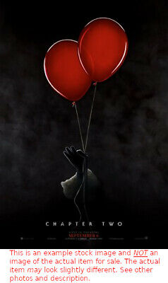 """It Chapter Two - 2019 Authentic Movie Theater Poster Double Sided 27"""" x 40"""""""