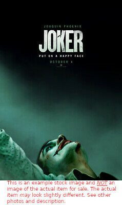 """Joker - 2019 Original Authentic Movie Theater Poster Double Sided 27"""" x 40"""""""