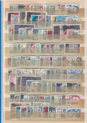 FRANCE - LOT DE 80 TIMBRES OBLITERES - Cote??