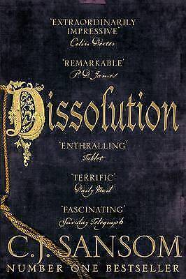 Dissolution (The Shardlake Series), By Sansom, C. J.,in Used but Acceptable cond