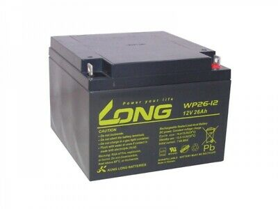 Akku kompatibel MS26-12W MS26-12HQ MS28-12 12V 26Ah wie 28Ah AGM Blei Battery