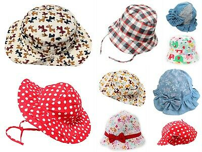 Discounted Clearance End of Line Baby Kid Boy Girl Sun Hat Age 6-12M 1-2Y 3 4 5