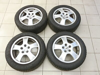4x complete wheels Aluminum rim winter tires 205/55R16 5X114.3 5.5-7.4mm Avensis