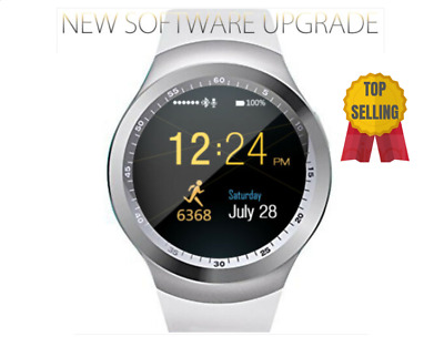 SMARTWATCH OROLOGIO iPhone ANDROID IOS CON SIM BLUETOOTH SMART WATCH Y1 BIANCO