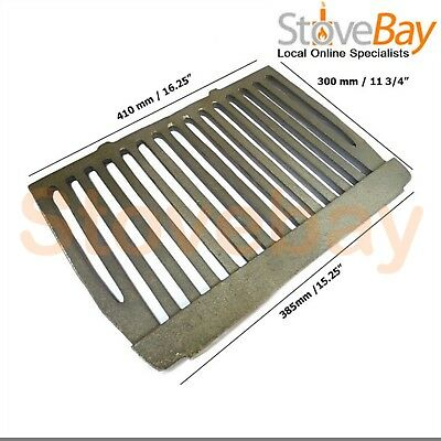 18 inch Dunsley Enterprise Cast Iron Flat Bottom Fire Grate