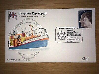 RNLI Commemorative Stamp Covers 1973 - 1985 (also Including some FDC's)