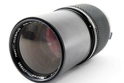 [AS-IS] Olympus OM System Zuiko MC Auto-T 200mm f/4 from Japan #O1377