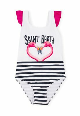 Costume MC2 Saint Barth bimba carol flamingo kiss bianco ss19