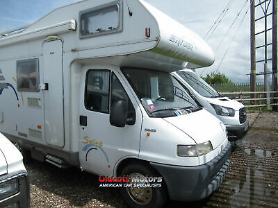 2002 Hymer Swing Fiat 2.8 Litre Manual 70,000 Km