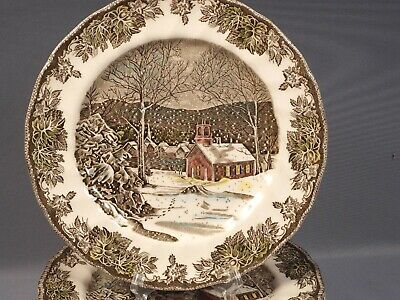 Johnson Brothers The Friendly Village Dinner Plate England The School House