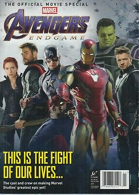 The Official Movie Special Marvel Avengers Endgame 2019