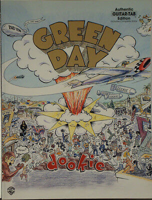 GREEN DAY – Dookie 1994 SONGBOOK NR