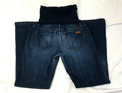 a1f6f16705113 Joe's Maternity Jeans Belly Panel Bootcut Pea In The Pod Medium Wash 30