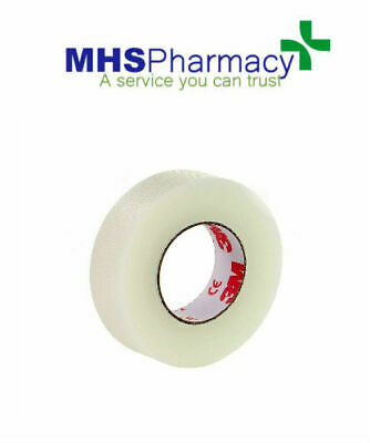 3M Brand - TRANSPORE TAPE - Medical Surgical Tape 1.25cm x 9.1Mtr