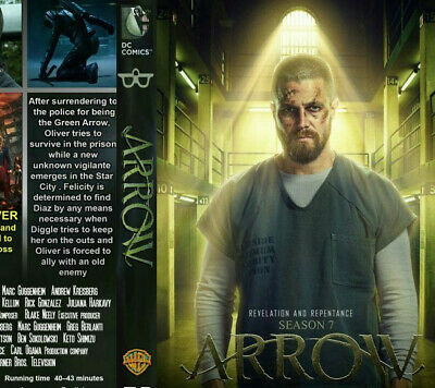 Arrow Season 7 DVD - Brand New & Sealed - postage free