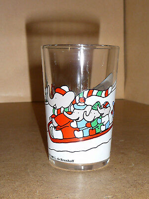Babar - Verre à moutarde - Babar Characters TM 1991 L. de Brunhoff