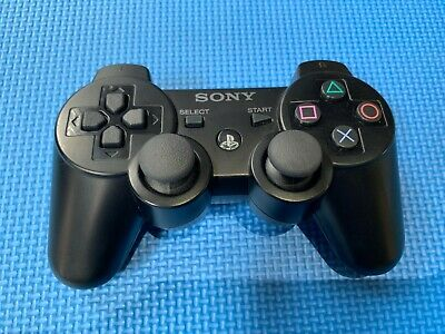 Sony Playstation 3 (PS3) Dualshock 3 Sixaxis Wireless Controller - Black